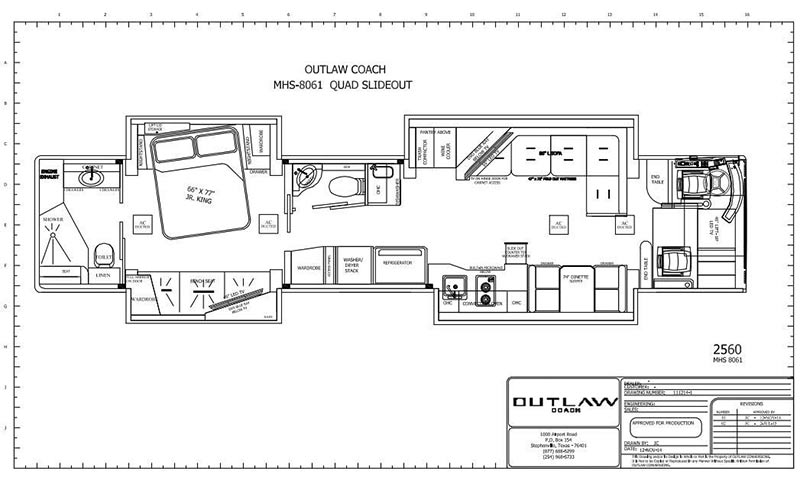 2016 Prevost Outlaw H3 45quad Slide 160647