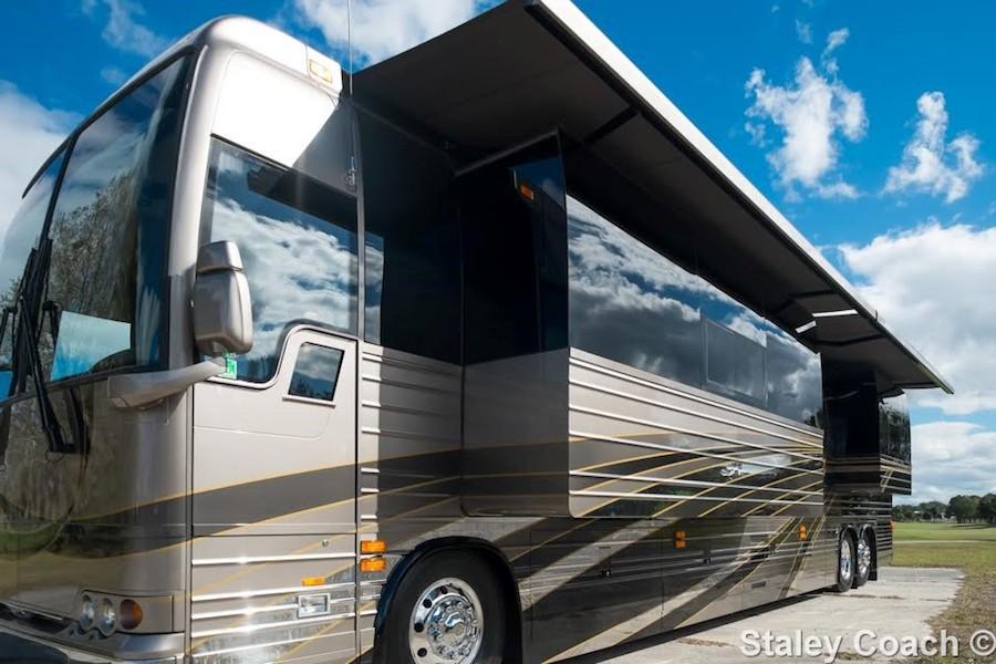 2017 Prevost Florida Coach X3double Slide 46017