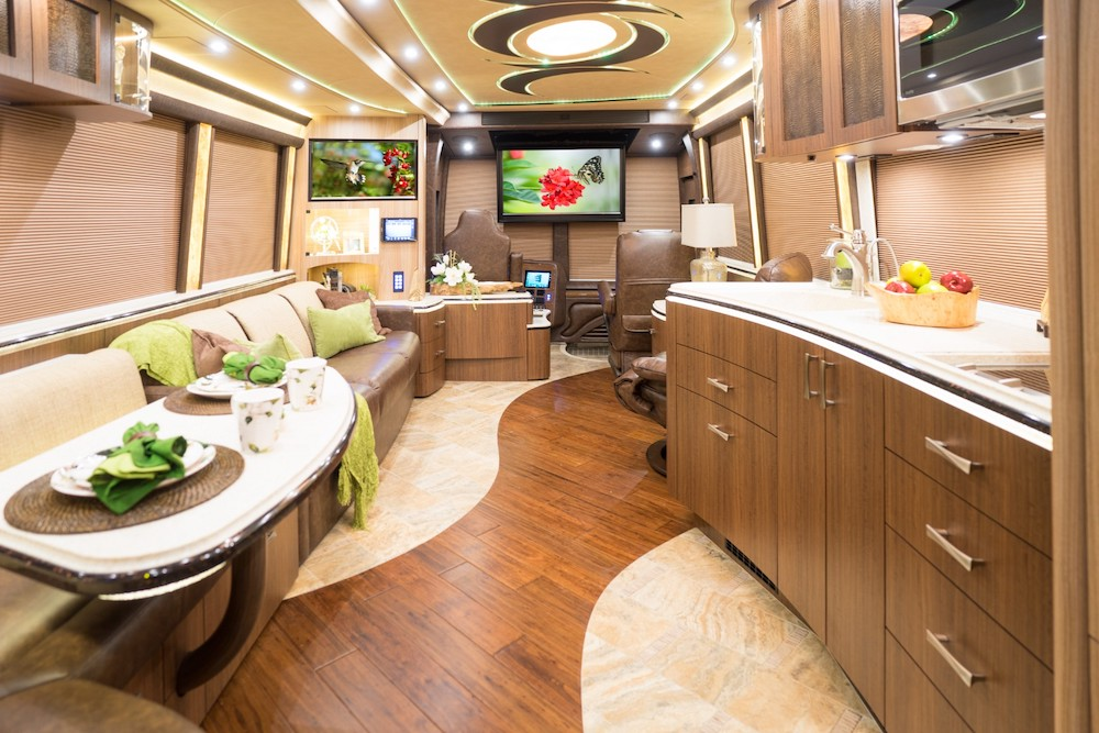 2019 Prevost Marathon X3double Slide Bunk Coach 1279